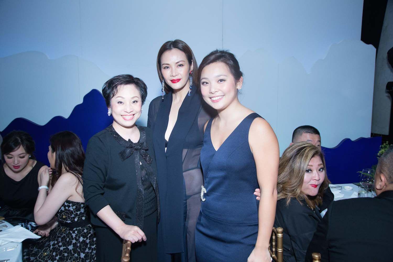Nina Lam, Janet Ma and Jenny Lam