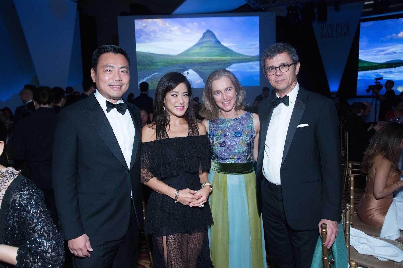 Kevin Lam, Sabrina Lam, Martina Shaw and Markus Shaw