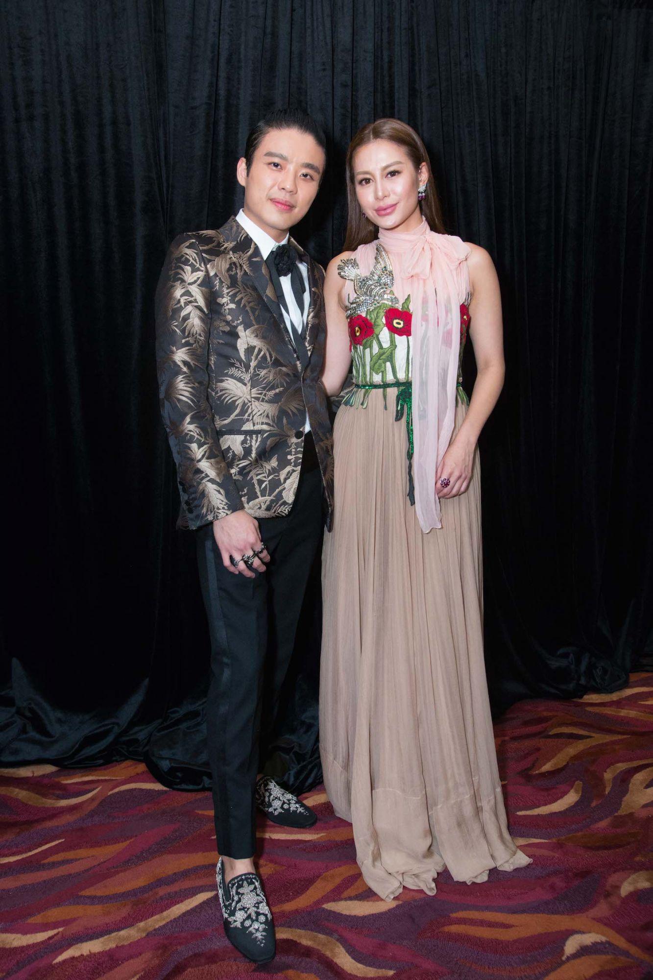 Jonathan Cheung and Eleanor Lam