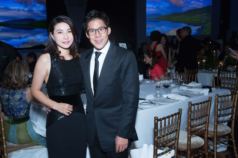 Guo Jingjing and Kenneth Fok