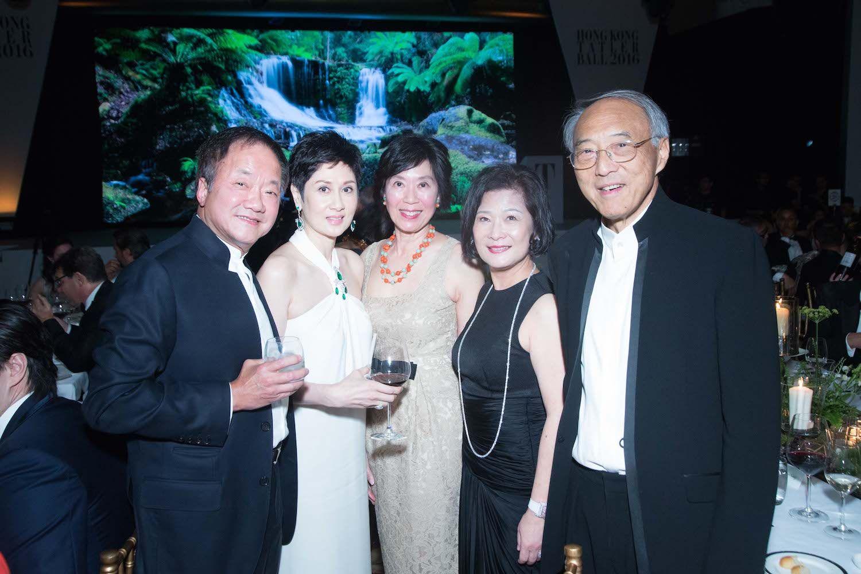 Moses Tsang, Michelle Ong-Cheung, Harriet Tung, Angela Tsang and Chee-chen Tung