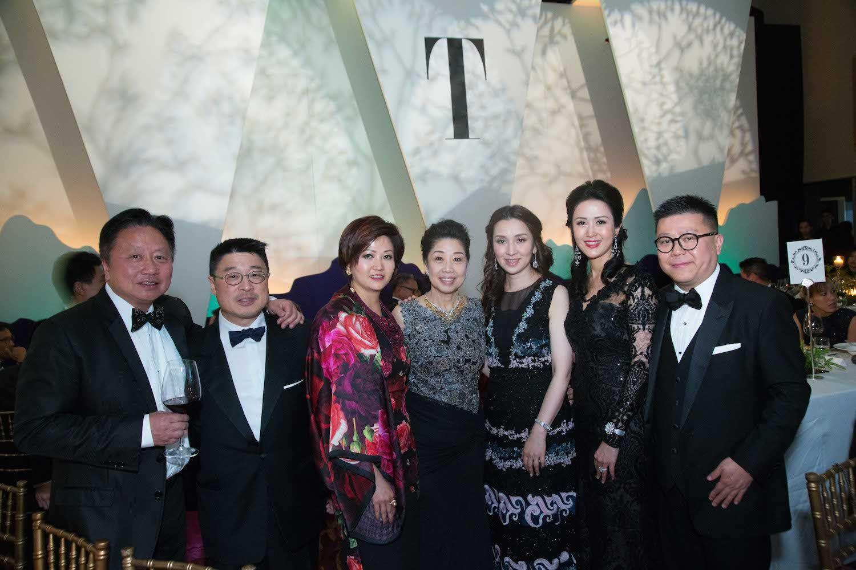 Jimmy Lam, Paul Lau, Leta Lau, Betty Sun, Emily Tang, Lianne Lam and Matthew Lam