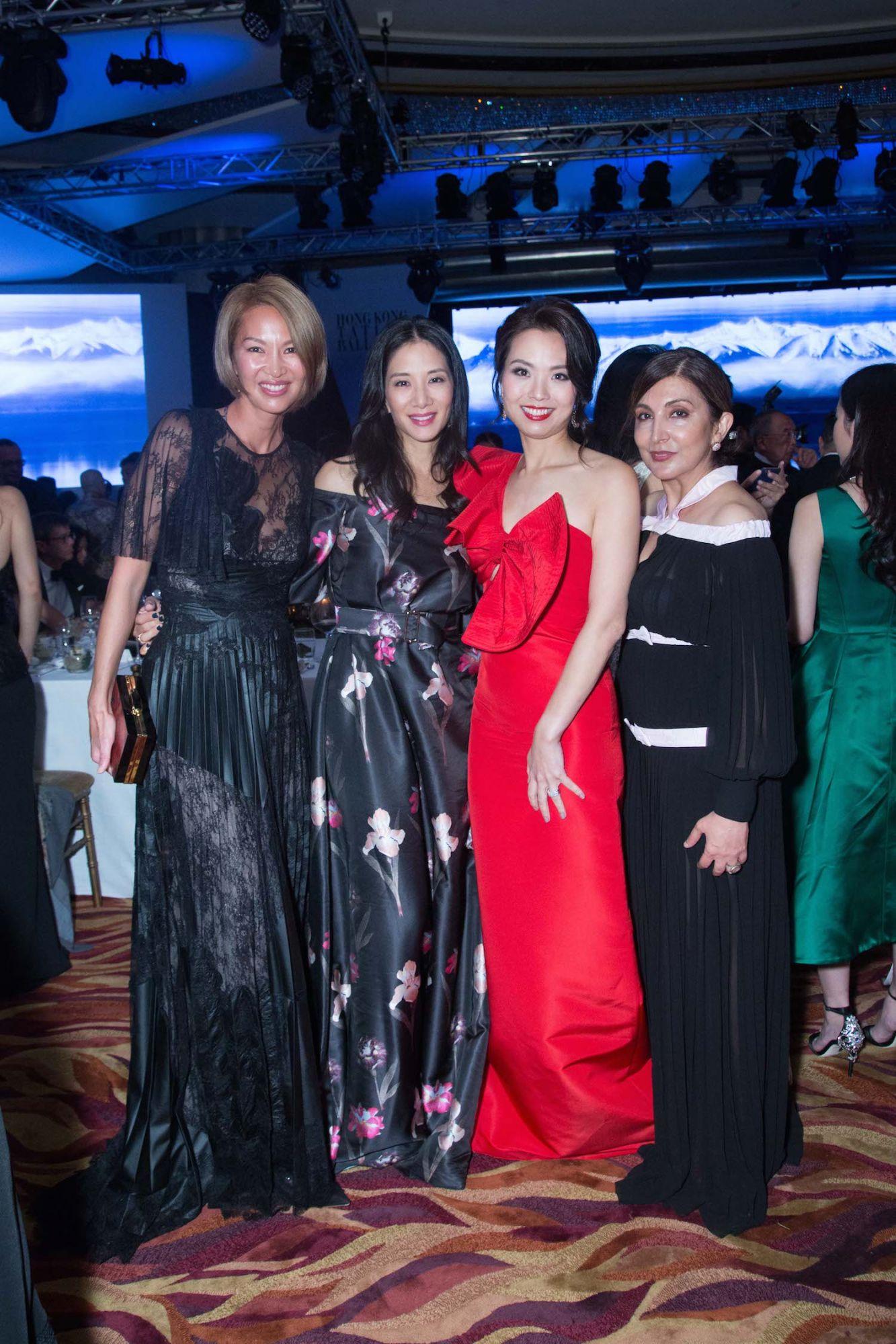 Yolanda Choy-Tang, Audry Ai Morrow, Anne Wang-Liu and Shirley Hiranand
