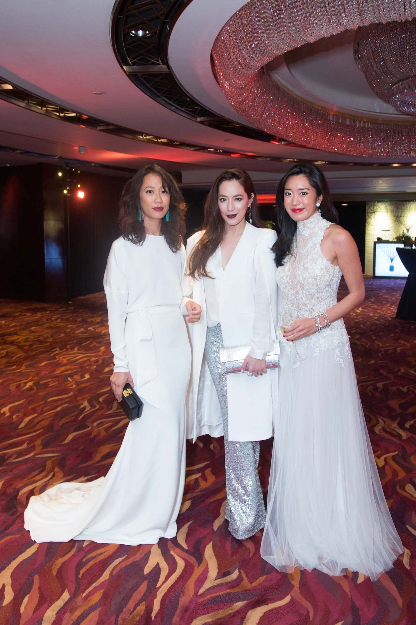 Kim Kollar, Arissa Cheo and Antonia Da Cruz