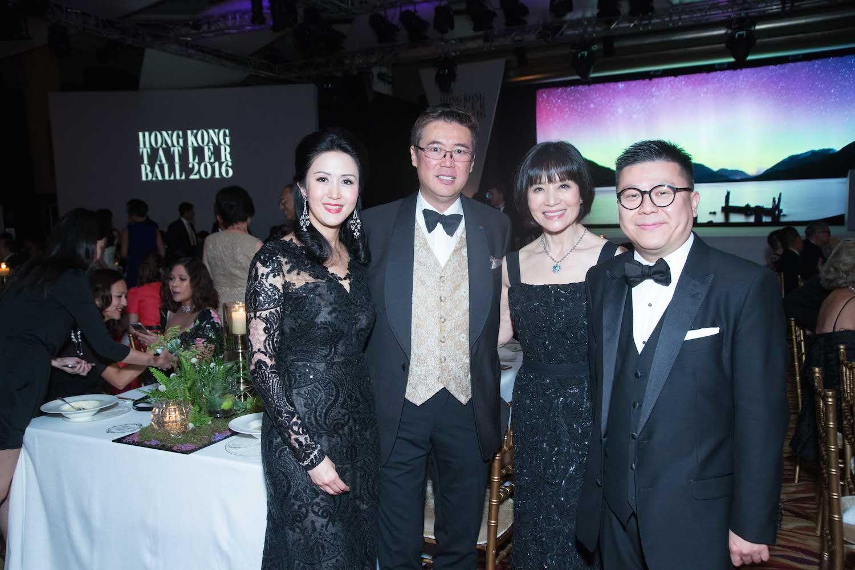 Lianne Lam, Andrew Yuen, Monica Wong and Matthew Lam