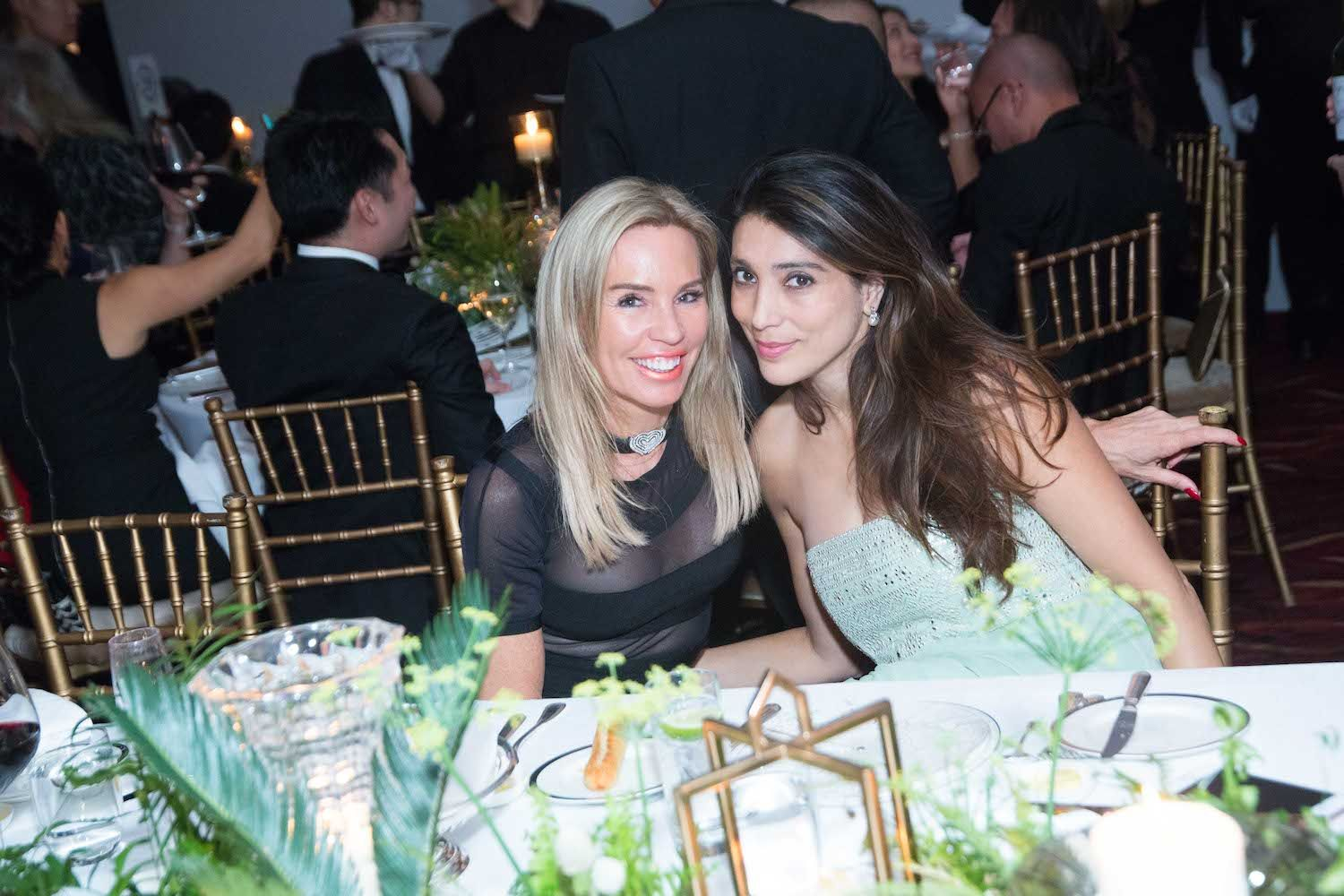 Annabelle Bond and Tania Mohan