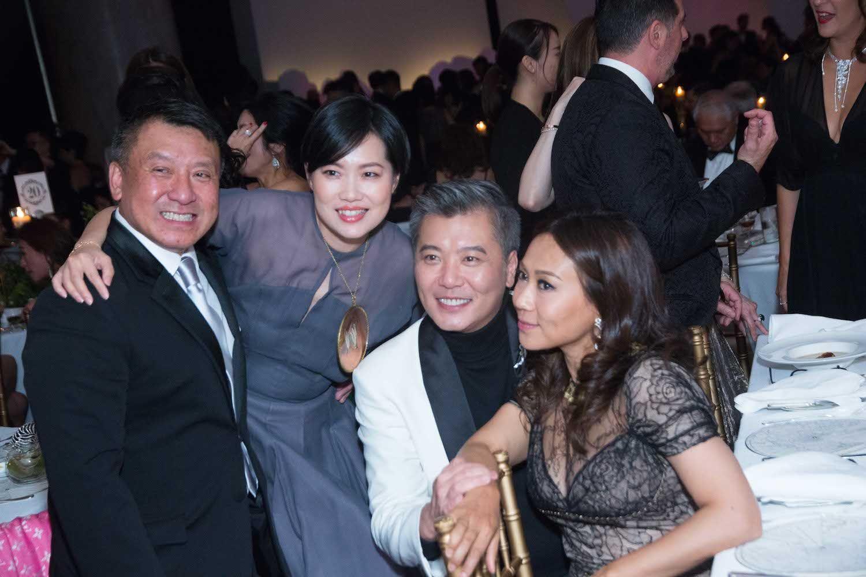 Nissim Tse, Tansy Lau-Tom, Peter Cheung and Sharie Ross-Tse