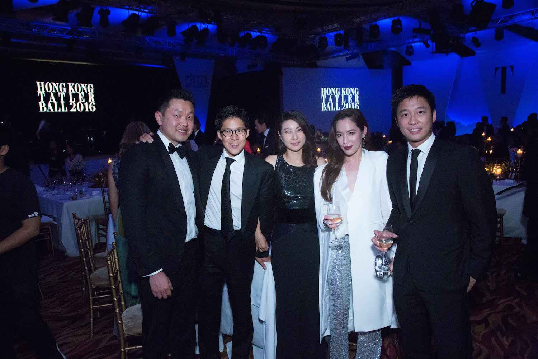 Lincoln Li, Kenneth Fok, Guo Jingjing, Arissa Cheo and Eric Fok
