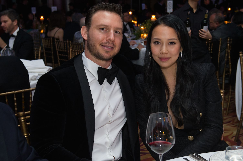 Lloyd Jones and Claudine Ying