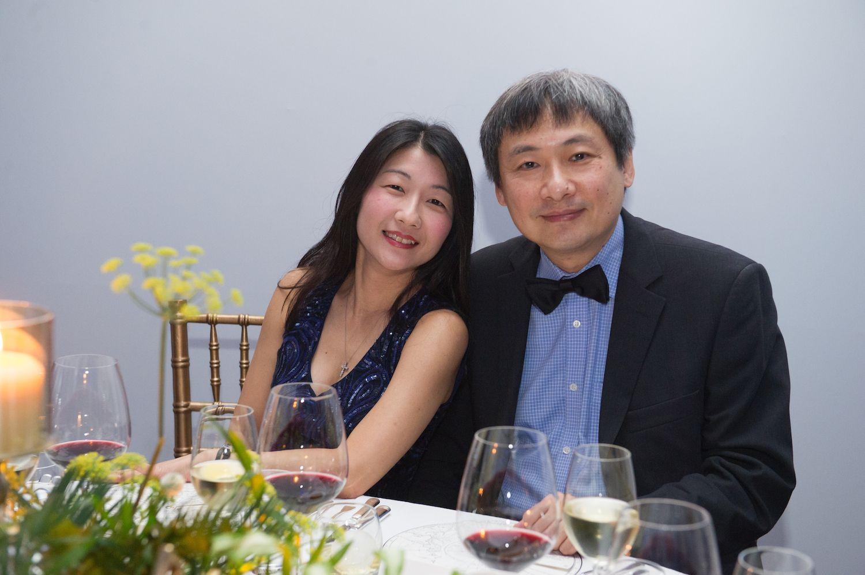 May Wong and Peter Woo