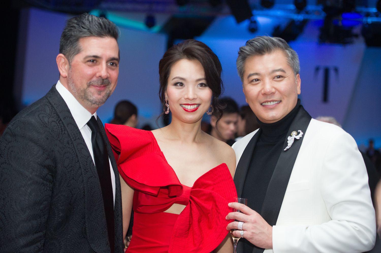 Francisco Anton-Serrano, Anne Wang-Liu and Peter Cheung