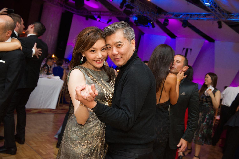 Laetitia Yu and Peter Cheung