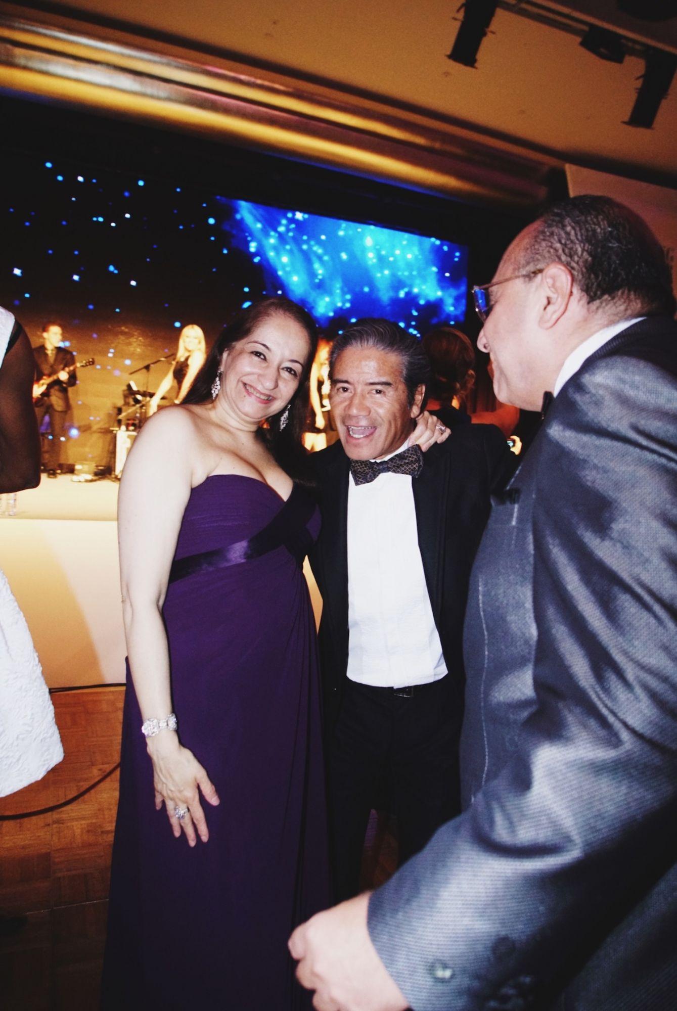 Chitra Chellaram, Tony Cruz and Manolo Chellaram