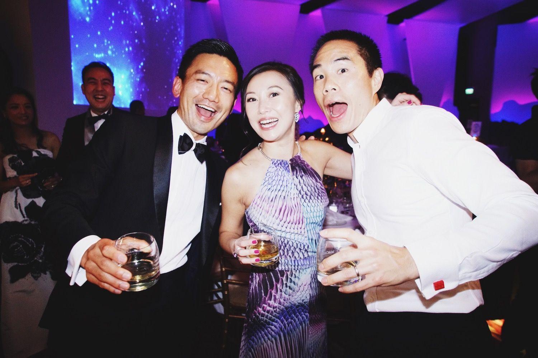 Ronald Kwok, Carmen Lee and Samuel Lee