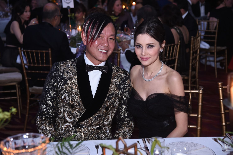 Stephen Hung and Deborah Hung