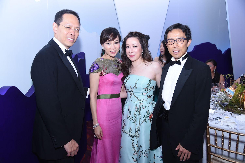 Jonathan Cheng, Dorothy Cheng, Janice Chan-Choy and Louis Choy
