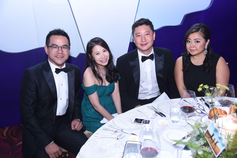 Jason Lee, Maya Lin, Alex Pei and Vena Cheng