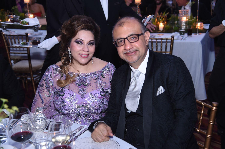 Rina Wadhwani and Haresh Wadhwani