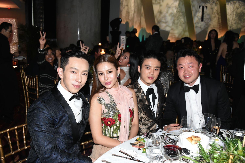 Harris Chan, Eleanor Lam, Jonathan Cheung and Lincoln Li