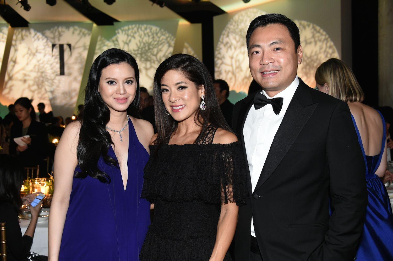Emily Lam-Ho, Sabrina Fung-Lam and Kevin Lam