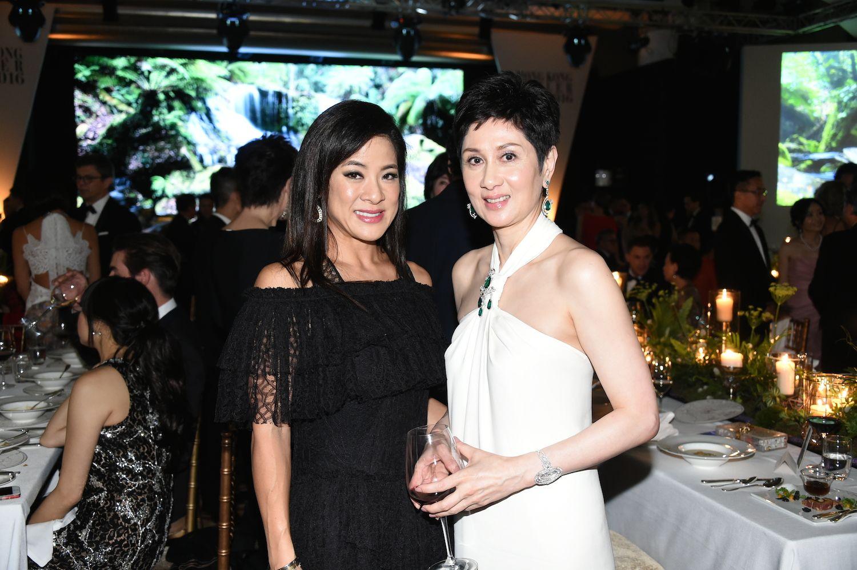 Sabrina Fung-Lam and Michelle Ong-Cheung