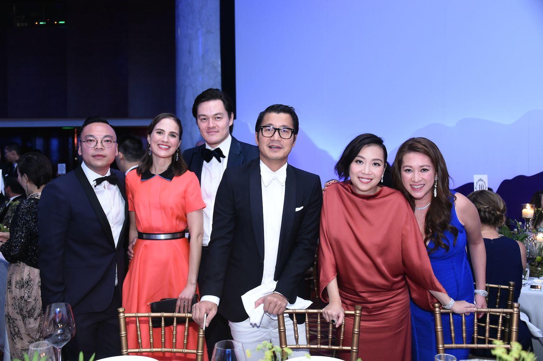Alan Lo, Patricia Crockett, Jonathan Crockett, William Zhao, Yenn Wong and Isabella Liang