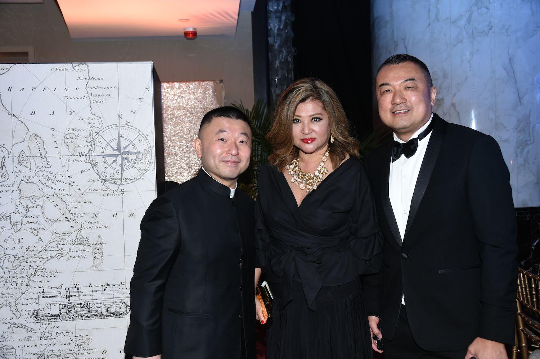 Albert Wong, Caroline Roberts and Edwin Ing