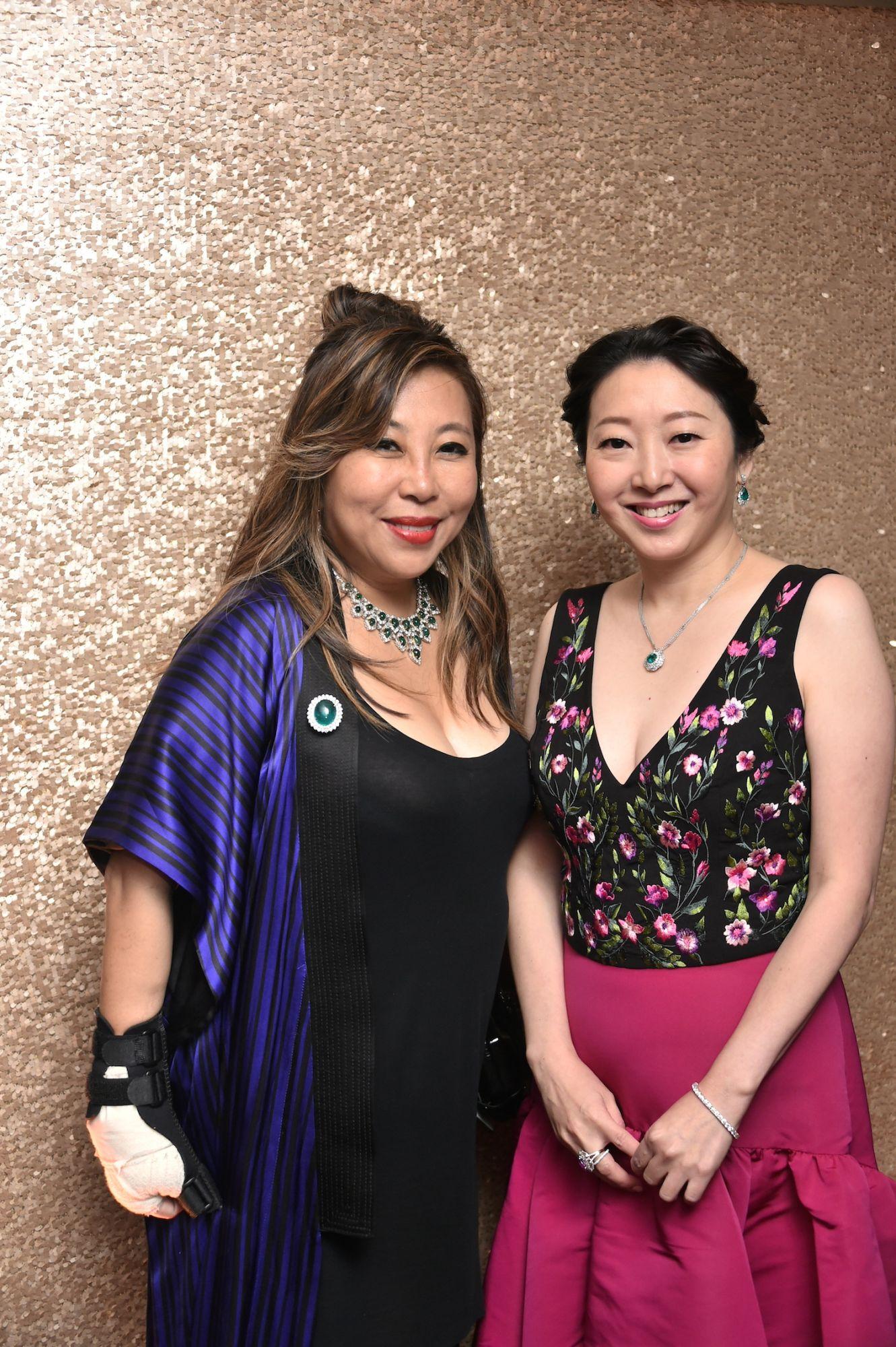 Lumen Kinoshita and Winnie Chan