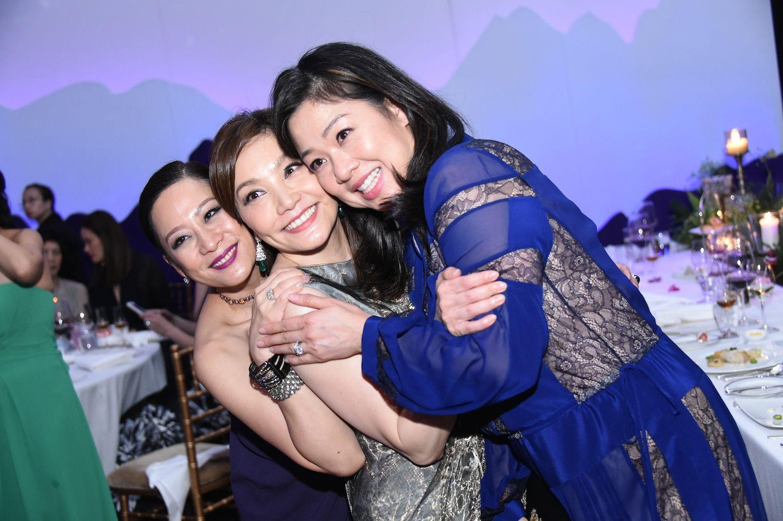 Yuda Chan, Laetitia Yu and Candice Suen-Sieber