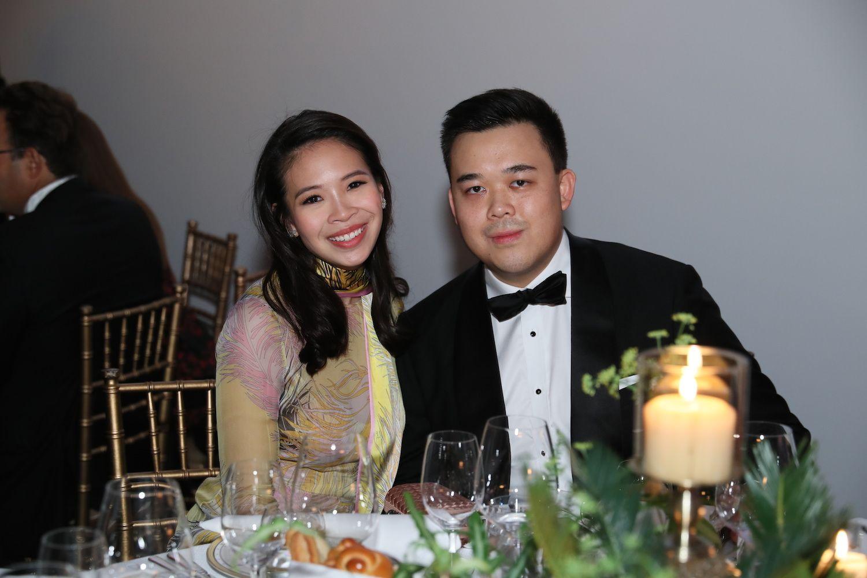 Vickie Li and Jonathan Kwok