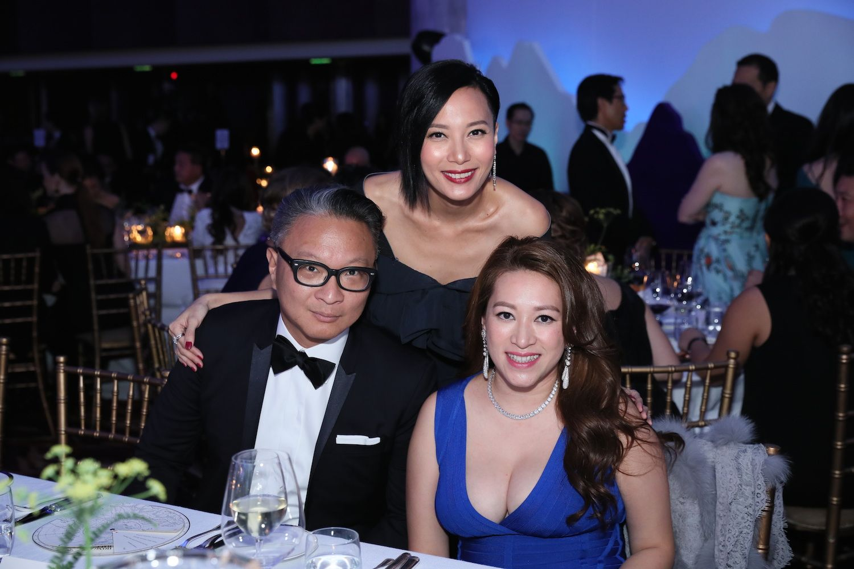 Benedict Ku, Jaime Ku and Isabella Liang