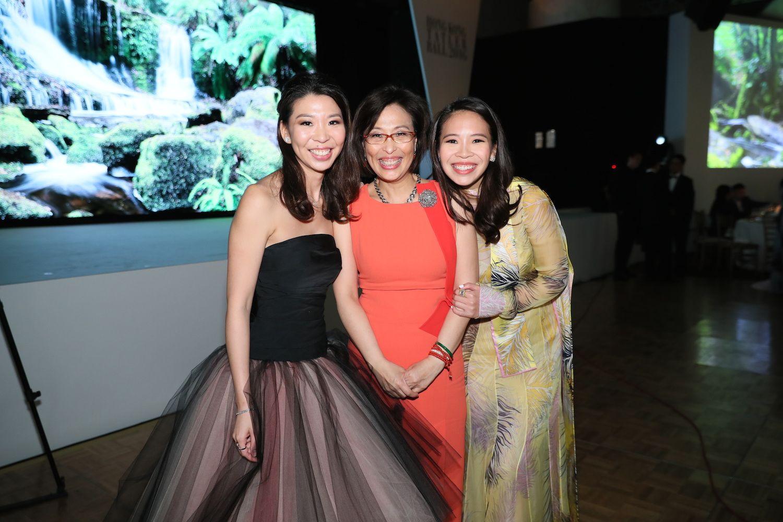 Kristine Li, Margaret Li and Vickie Li