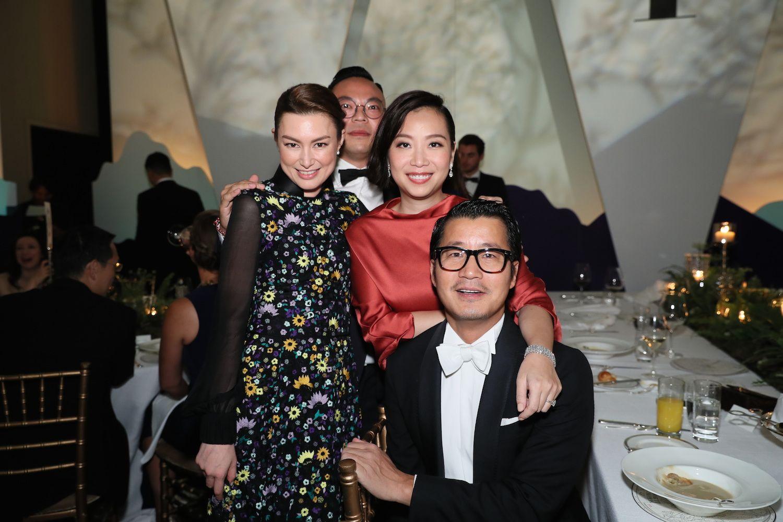 Danielle Graham, Alan Lo, Yenn Wong and William Zhao