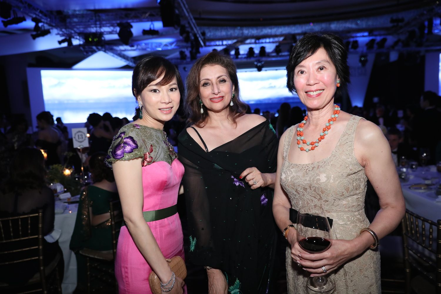 Dorothy Cheng, Bhagwanti Mohan and Harriet Tung