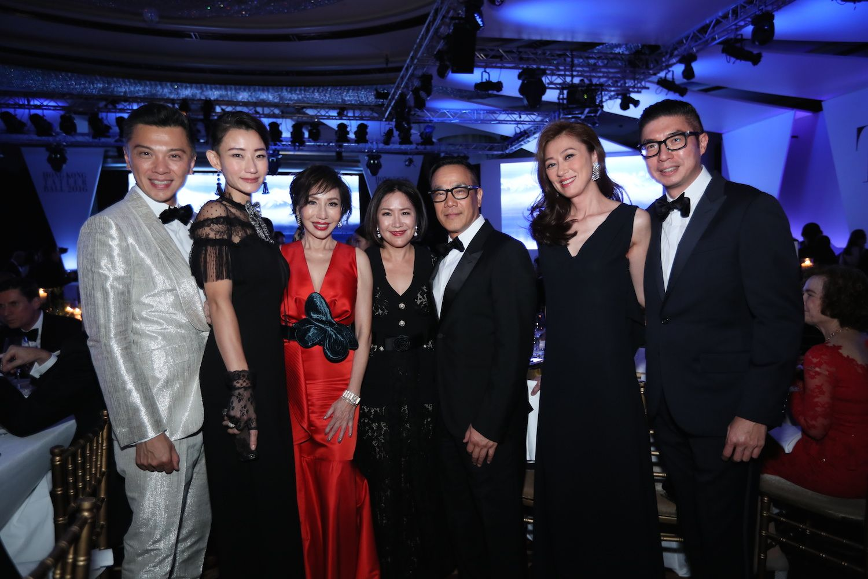 Sunny Tan, Esther Tan, Olivia Lee-Davies, Esther Chan, Derek Chan, Winnie Chan and Philip Chan