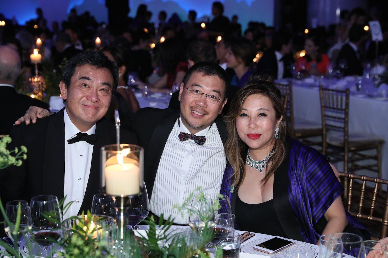 Sherman Tang, Andrew Kinoshita and Lumen Kinoshita
