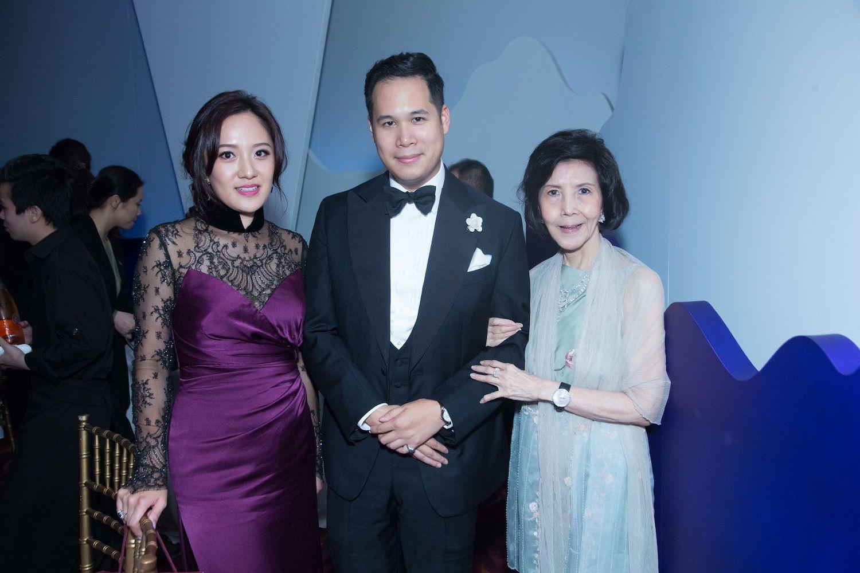Jenny Chau, Brandon Chau and Margery Au