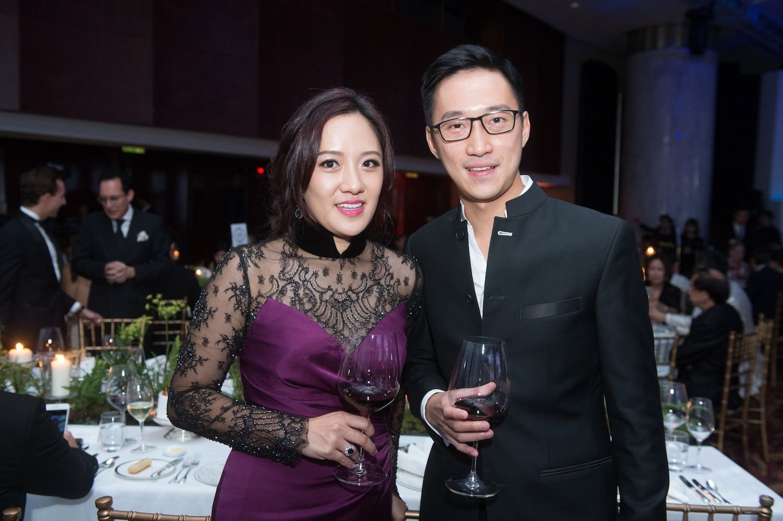 Jenny Chau and Evan Chow
