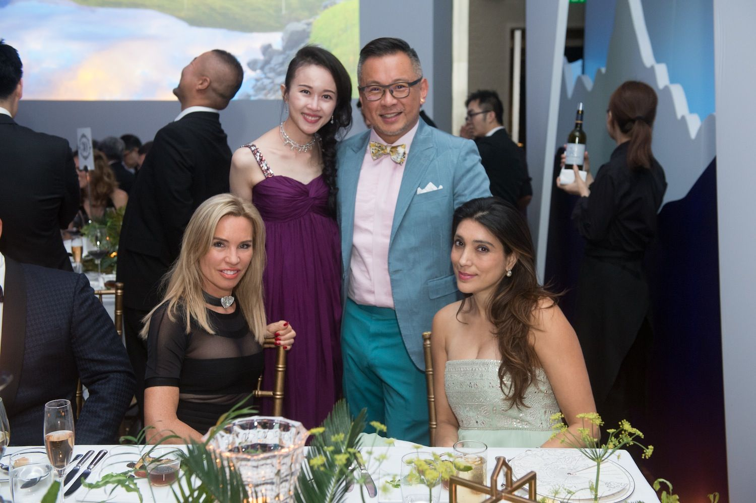 Annabelle Bond, Jacqueline Chow, Barney Cheng and Tania Mohan