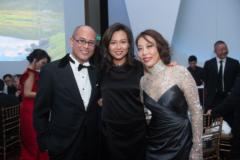 Tjun Tang, Sylvia Tang and Vicky Lam
