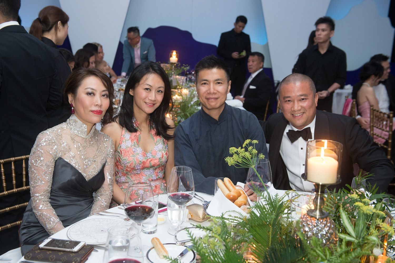 Vicky Lam, Joanne Chan, Douglas Young and Benjamin Cha