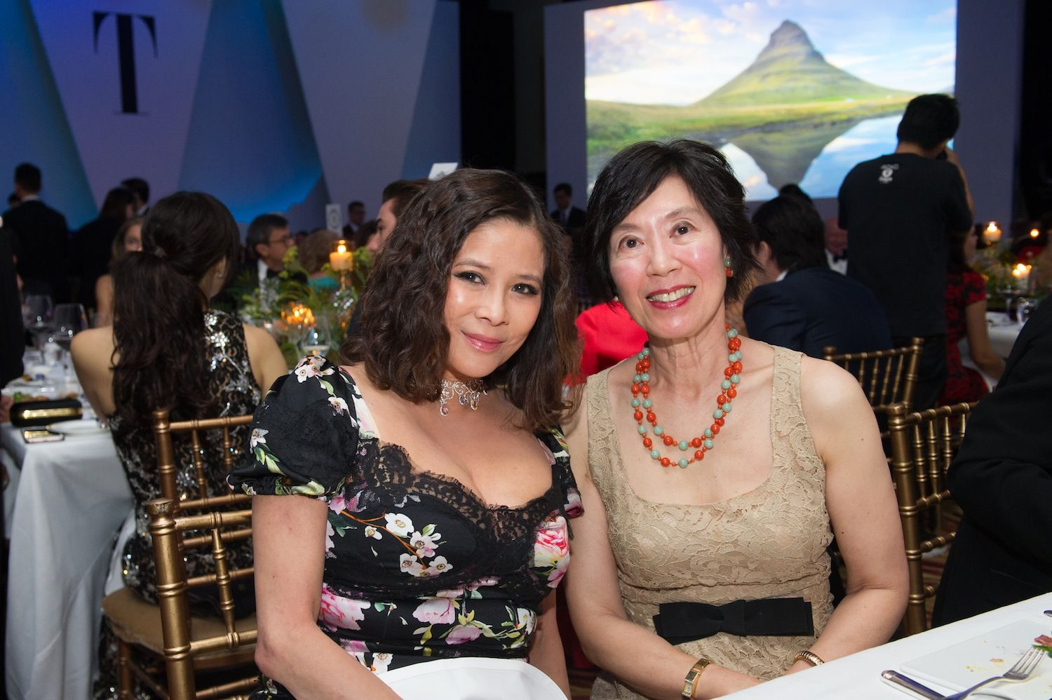 Yvette Yung and Harriet Tung