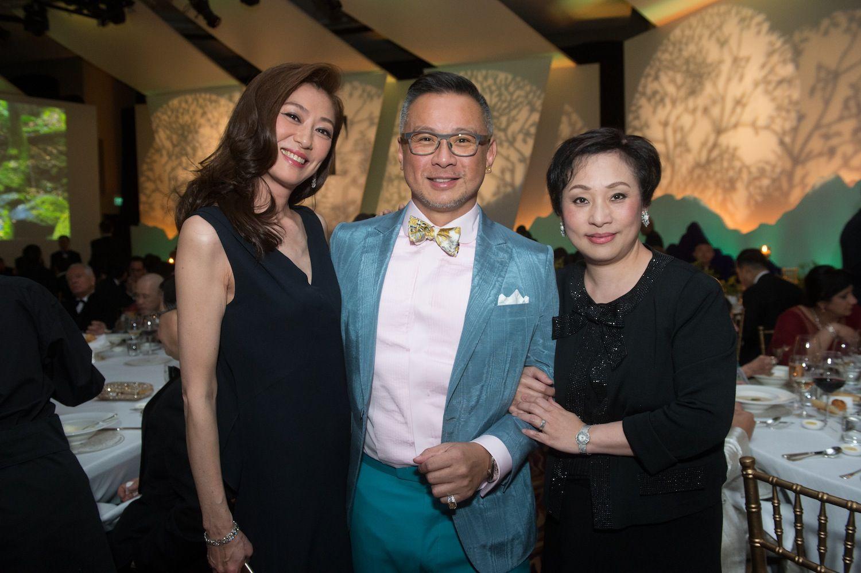 Winnie Ma, Barney Cheng and Nina Lam