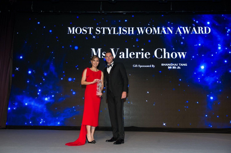Valerie Chow and Michele Lamunière