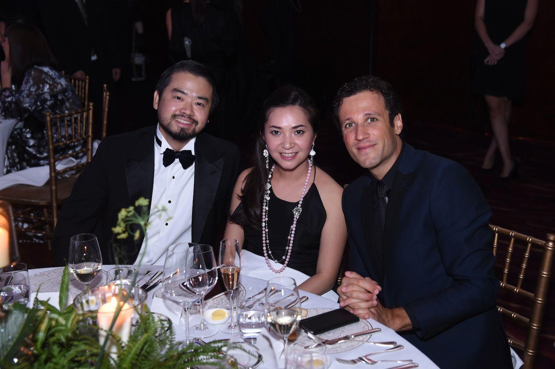 Holic Tandijono, Kanika Tandijono and Diego Planas