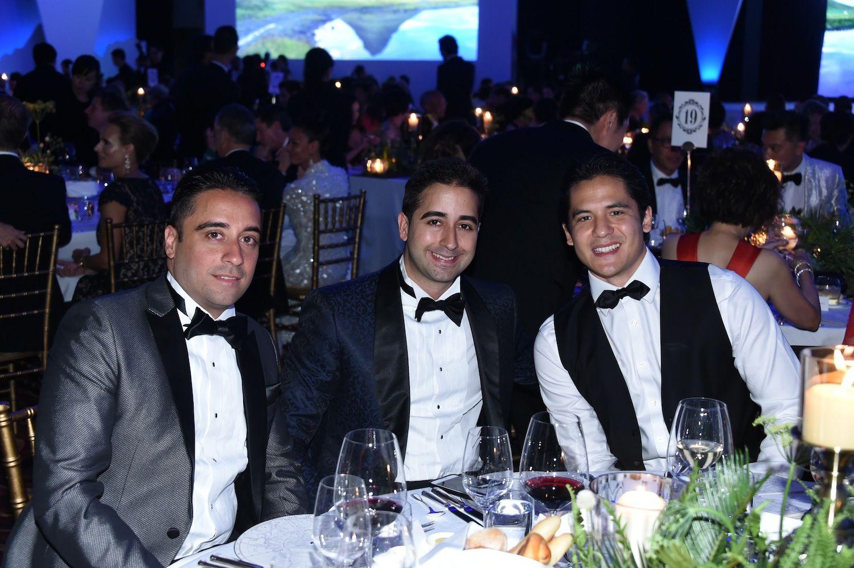 Manesh Chellaram, Manoj Chellaram and Miles Davies