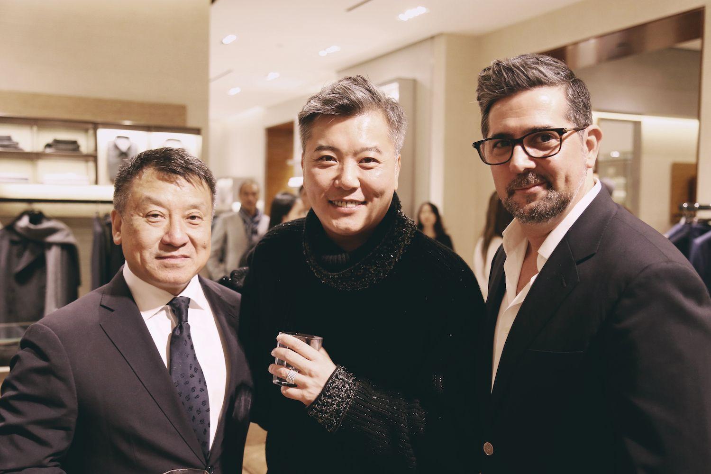 Nissim Tse, Peter Cheung and Francisco Anton-Serrano