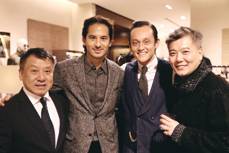 Nissim Tse, Sean Lee-Davies, Sean Fitzpatrick and Peter Cheung