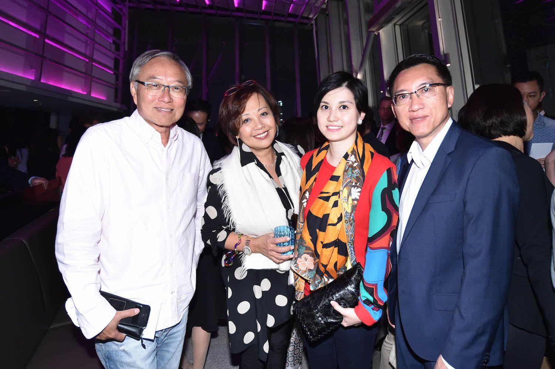 George Chen, Wendy Kwok, Kathy Wang and Raymond Hu