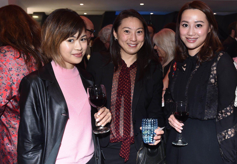 Michelle Kwok, Pamela Tung and Josephine Chiu